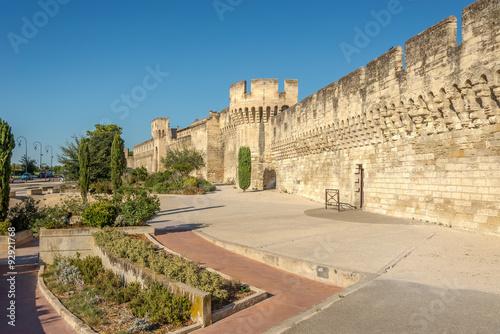 Poster Maroc The Avignon city wall