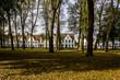 Parco interno del Begijnhof di Bruges, Belgio