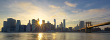 Panoramic View Of Manhattan At...