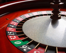 Old Roulette Wheel. Casino Ser...