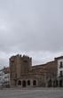 Hermosa ciudad medieval de Cáceres en la comunidad de Extremadura, España