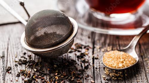 Tea strainer Fototapeta