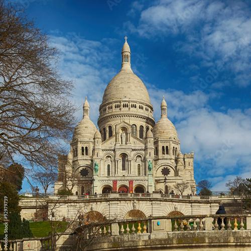 Staande foto Parijs Sacre Coeur Basilica in Paris