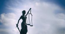 Scales Of Justice Symbol - Leg...