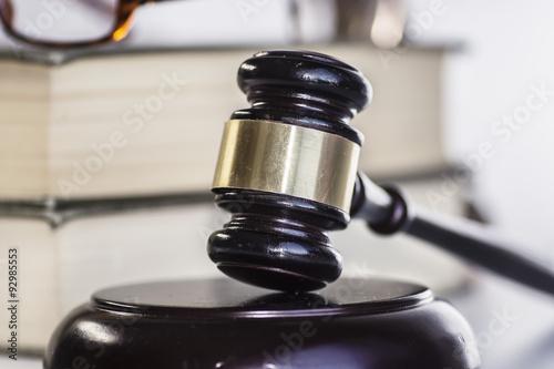 Photo  Legal law concept image
