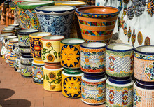 Colorful Mexican Pottery