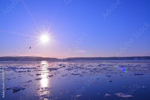 Fotografie, Obraz  流氷