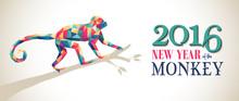 Happy China New Year Monkey 20...