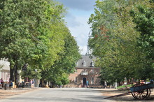 Colonial Williamsburg In Virginia