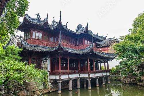 Photo  Traditional Chinese private garden - Yu Yuan, Shanghai, China