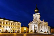 Basilica In Wadowice, Poland.