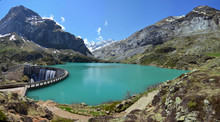 Lac Des Gloriettes In The French Pyrenees