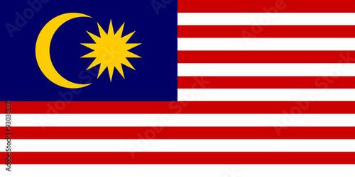 Fotografía  Malaysian flag