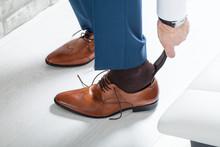 Male Businessman Dress Shoes