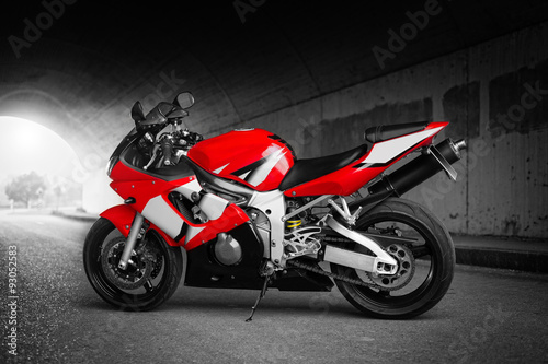 Top Speed (Red) Canvas Print