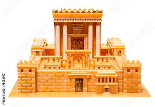 Spoed Foto op Canvas Bedehuis Herod's temple