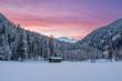 Einsame Alphütte, Nationalpark Hohe Tauern, Österreich