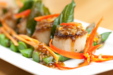 Thai Scallops Dish