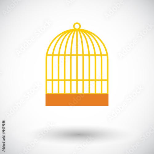 Fotografie, Obraz  Cage icon