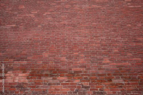 Fototapeta Texture red brick wall obraz na płótnie