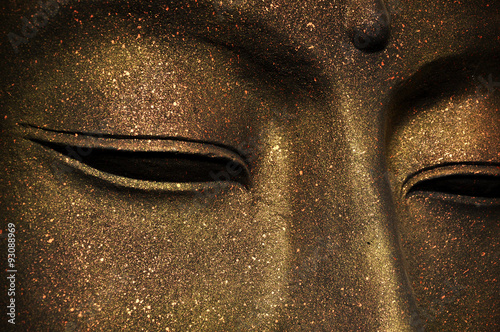 Printed kitchen splashbacks Buddha The face of Buddha