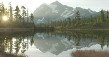 Mt Baker Picture Lake Reflection