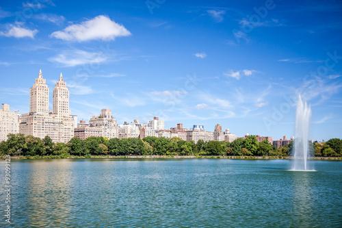Fotografía  Jacqueline Kennedy Onassis Reservoir in Central Park New York City
