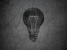 Finance Concept: Light Bulb On...