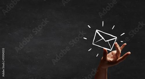 Fototapeta Email concept obraz