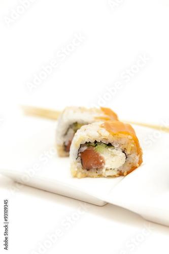 Deurstickers Sushi bar Sushi