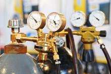 Welding Acetylene Gas Cylinder Tank With Gauge