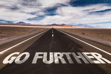 Go Further Written On Desert Road