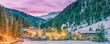 Winteridylle im Nationalpark Hohe Tauern, Österreich