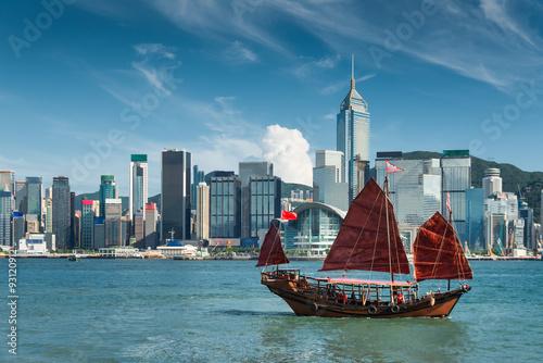 Photographie Port de Hong Kong
