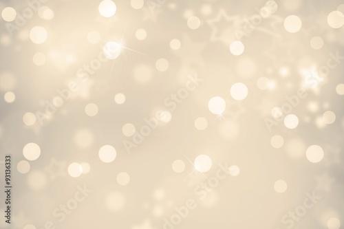 Fotografie, Obraz  Weihnachtsbokeh