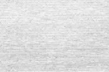 Background Of White, Tiny Bric...
