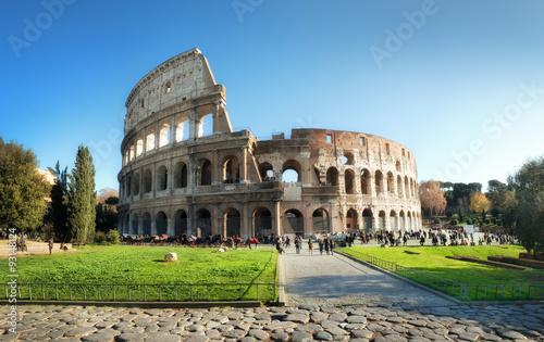 Poster Rome Colosseum, Rome