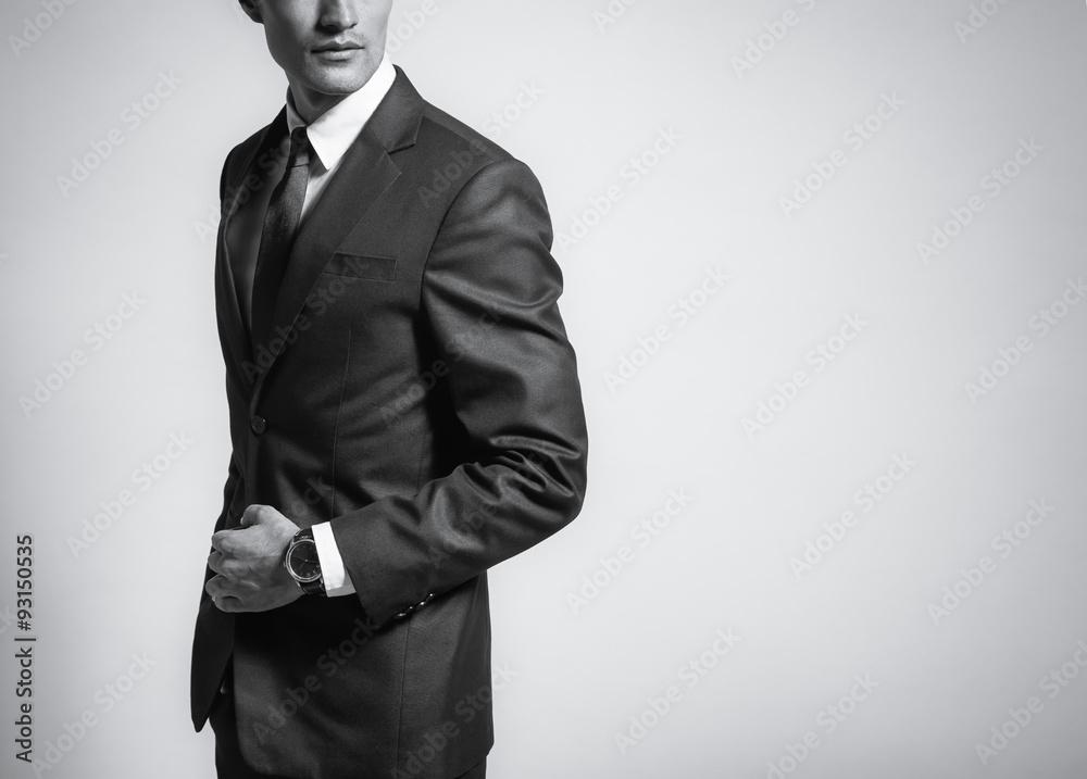 Fototapeta Man in suit