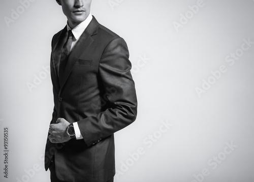 Obraz na plátne Man in suit