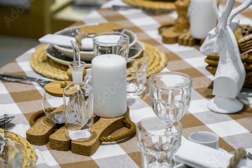 Foto op Aluminium Buffet, Bar decorated table