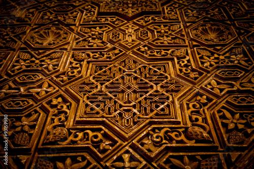 Fotografie, Obraz  Ancient Arabic Background