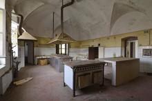 Old Abandoned Kitchen