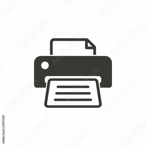 Fotografía  Printer  icon.