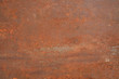 canvas print picture - rusty metal surface