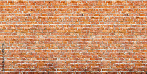 Brick Wall Panorama - 93181119