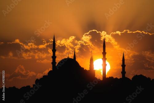 Suleymaniye Mosque,Istanbul Fototapeta