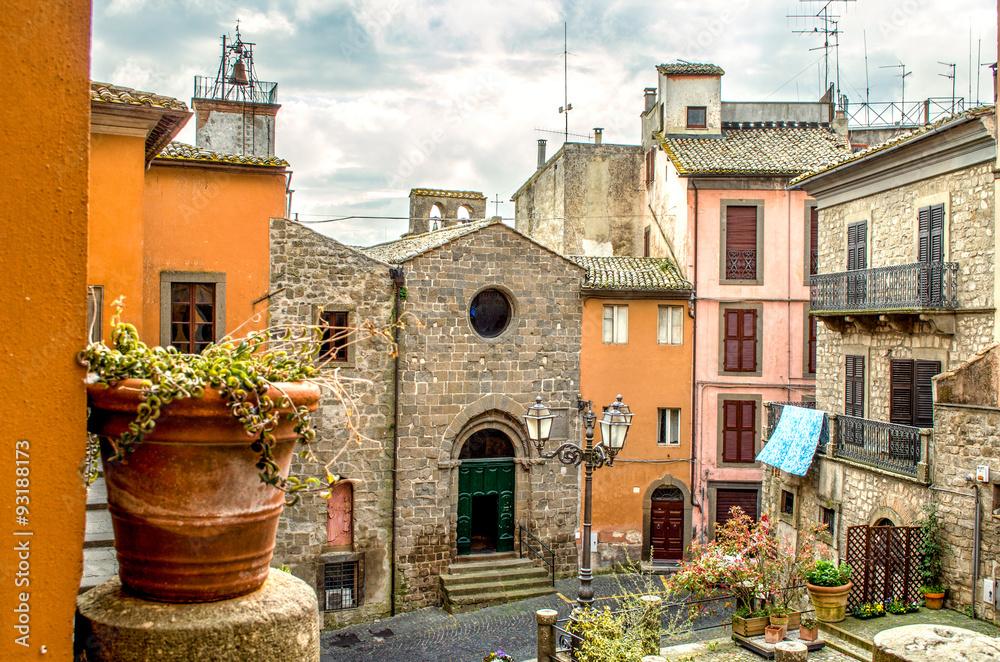 Fototapety, obrazy: Viterbo, Lacjum, Montefiascone, podróż do Włoch