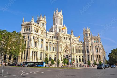 In de dag Madrid Palacio de Comunicaciones