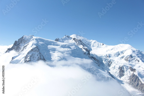 Papiers peints Blanc Mont Blanc