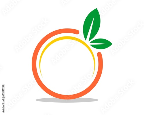 Abstract Orange Fruit V 2 Buy This Stock Vector And